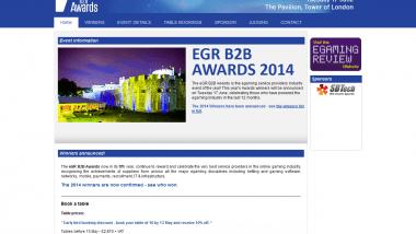 EGR B2B Awards ohne Überraschungen – Playtech mit Hauptpreis