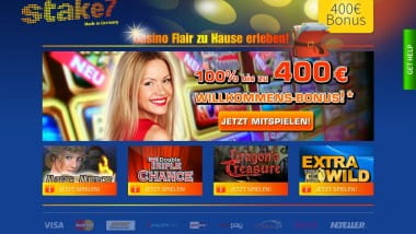 400€ bei Stake7 für Merkur Spiele kassieren