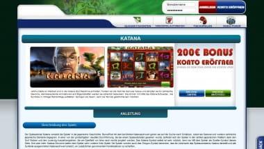 Katana Slot sticht alle andere Games aus