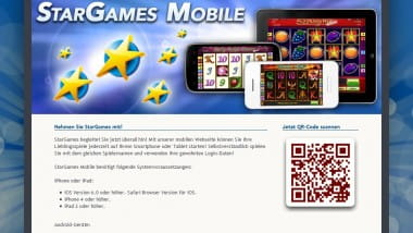 Stargames endlich mit Casino App