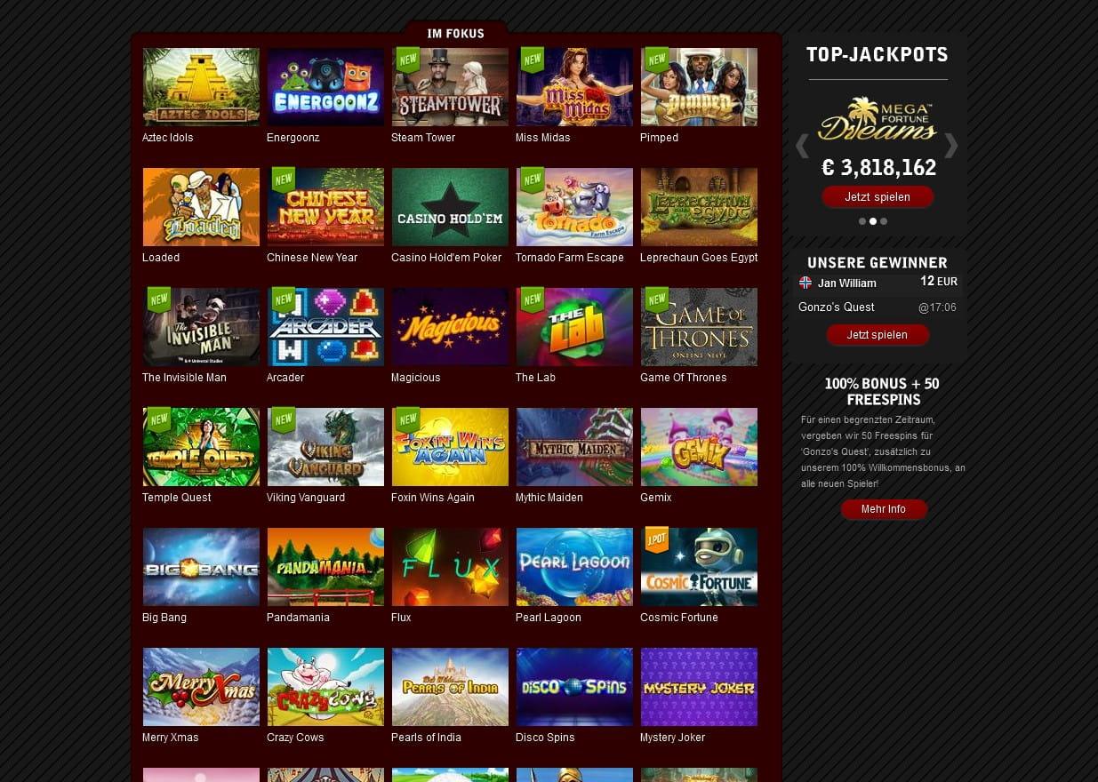 video slots free online spiele im casino