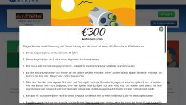 Quasar Casino: 300€ mit der 2. Einzahlung