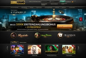 Eurogrand Casino Relaunch