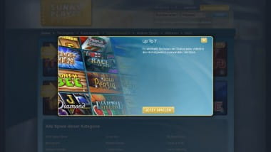 """Up to 7"" Magie im Sunnyplayer Casino"