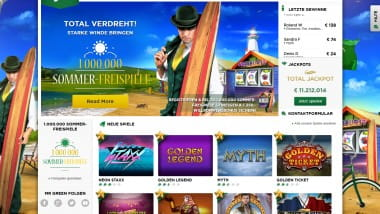 Sommerfreispiele im Mr. Green Casino