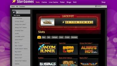 Random Runner im Stargames Casino