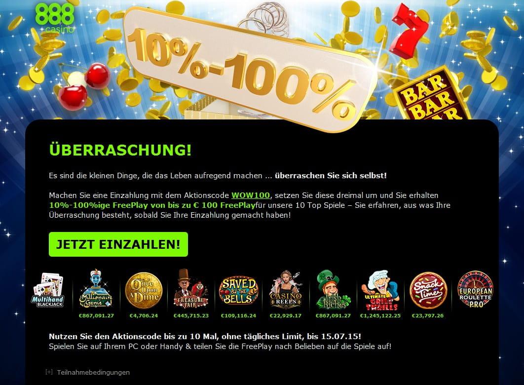 888 casino 88 euro sind nur 15