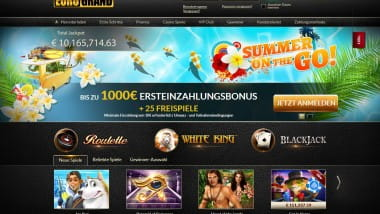 Summer on TheGo im Eurogrand Casino