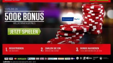 Keine Casino-Aktion verpassen bei Ladbrokes