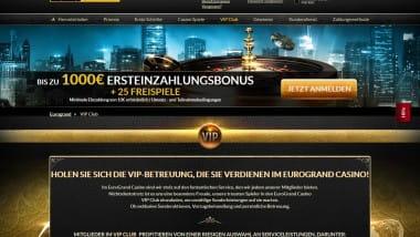 5-Sterne VIP im Eurogrand Casino