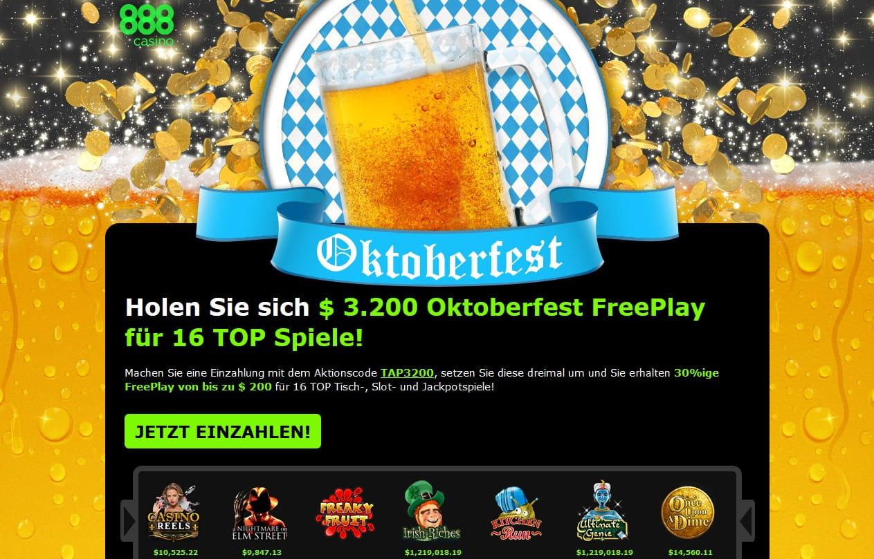 888 casino exclusive freeplay