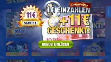 Start11 – die neue Aktion im Stake7 Casino