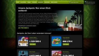ComeOn Casino mit noch mehr Jackpots