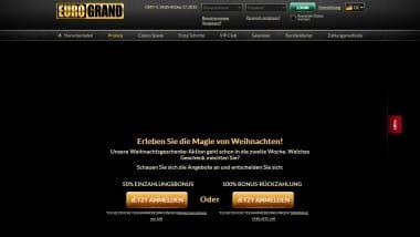 Eurogrand Casino verteilt Präsente