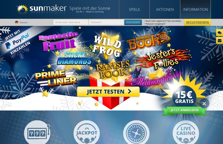 sunmaker online casino 2017 news