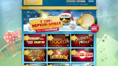 Sunnyplayer mit neuen Merkur Spielen vor Weihnachten