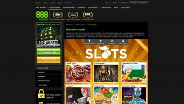 New Games im 888Casino