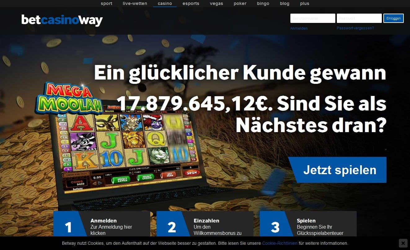 Betway Casino Betrug