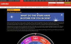 Ladbrokes Blackjack Horoskop
