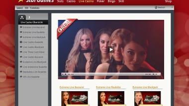 StarGames: Valentins Bonus im Live-Casino