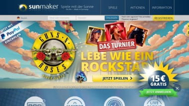 Sunmaker Casino mit Net Entertainment Spielen