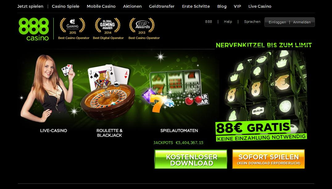 888 Casino 88 Euro