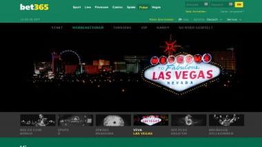 Bet365 lädt nach Las Vegas ein
