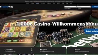 Betway Casino – Gigantischer Neukundenbonus bis 1.000 Euro