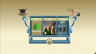 DrückGlück Casino vergibt Freispiele und Bonus an Neukunden