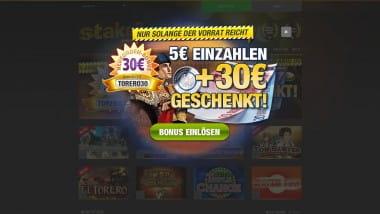 Stake7 – 5€ einzahlen und mit 35 Euro spielen