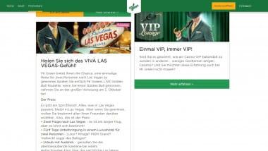 Mr Green: Reise nach Las Vegas gewinnen