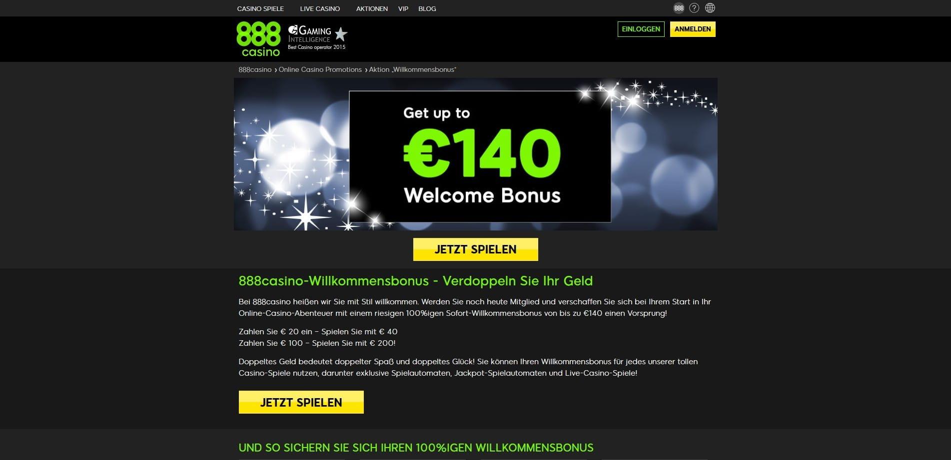 888.Casino 140