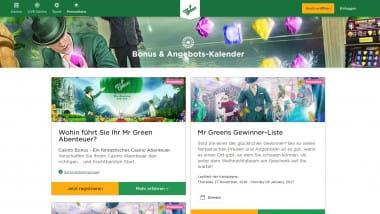 Mr Green: Ein Jahr lang wöchentlich Bargeld kassieren