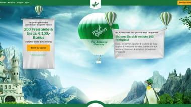 Mr Green: 100 Euro Bonus und 100 Freispiele warten
