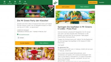 Mr Green Casino – 5.000 Euro Preisjagd