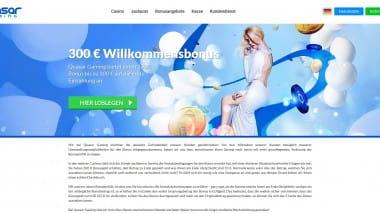 Quasar Gaming: 300 Euro Bonus sichern