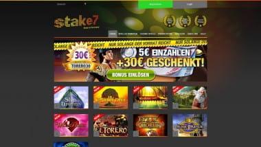 Stake7: 5 Euro einzahlen und 30 Euro erhalten