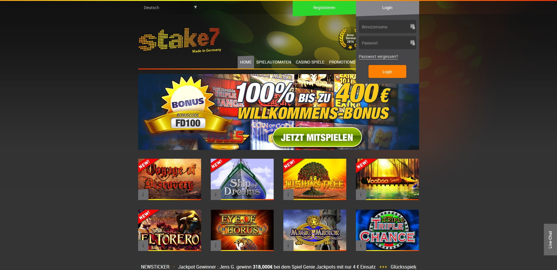 online casino live stream deutsch