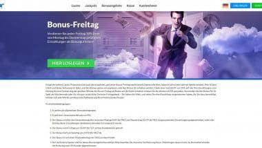 Quasar Gaming: Bis zu 500 Euro Bonus am Bonus-Freitag holen
