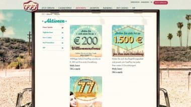 777 Casino: Tägliche Gewinne einkassieren