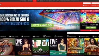 Ladbrokes Casino Bonus: Bis zu 500 Euro Bonusgeld kassieren