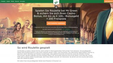 Mr Green: Täglich 5 Euro gratis sichern