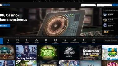 Betway Casino: Mit bis zu 1.000 Euro Bonus starten