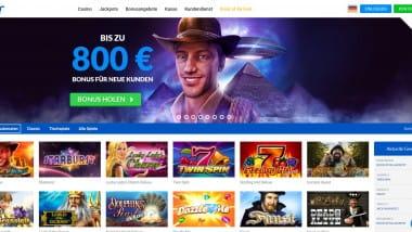 Quasar Gaming: Neukunden kassieren bis zu 800 Euro Bonus