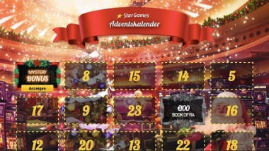 Stargames: Tägliche Extras mit dem Stargames Adventskalender sichern