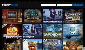 Betway Casino Treuepunkte Aktion