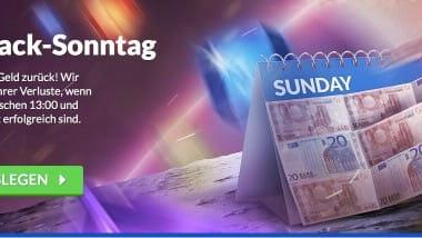 Quasar Gaming: Sonntags 10 Prozent Verluste zurückholen