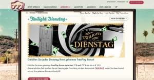 777 Casino Twilight Dienstag