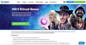 Quasar Gaming Reload-Bonus