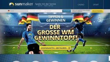Sunmaker Casino: 5 Freispiele für deutsche Siege bei der WM